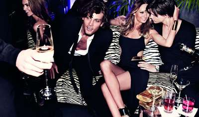 Crowded Club Campaigns - Michael Kors Holiday 2011 Ads Showcase a Good Time