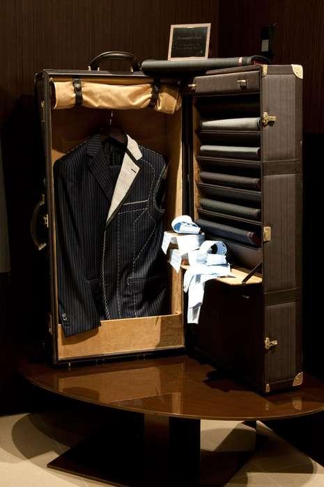 Ultra-Luxe Menswear Boutiques