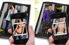 Strippable Catalogs - Moosejaw X-Ray App Lets You See What's Really Under the Model's Cl