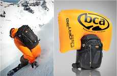 Avalanche Survival Airbags - Backcountry Access Float 30 Prevents Skiers from Snow Burial