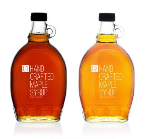 Hand Crafted Maple Syrup is See-Through