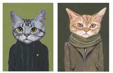 Cute Kitty-Clothed Portraits - Heather Mattoon Gets Crazy Cat Fans Jumping for Joy