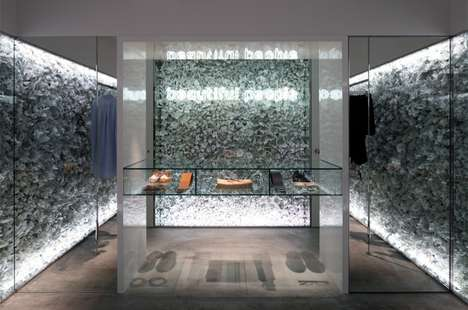 Flower-Covered Walls - Walk into a White Garden at the Beautiful People Shop in Tokyo