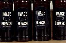 Agency-Branded Beer - Image Brew Studio Enhances Marketing by Creating Own Booze
