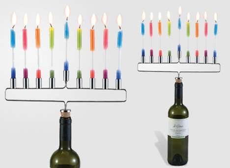 Festive Wine Stoppers
