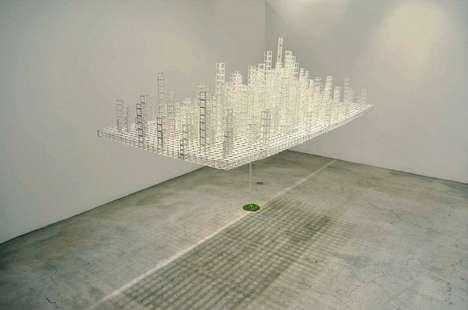 Suspended Paper Metropolises