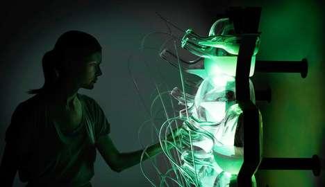 Bacteria-Powered Lighting