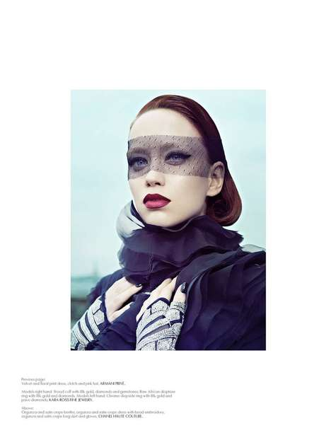 Mysterious Masked Editorials