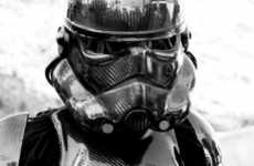 Slicked-Out Imperial Cosplays - Carbon Fiber Stormtroopers Gives the Characters a Badass Makeover
