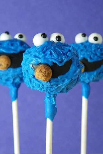 The Cake Poppery Whips Up Sesame Street Cake Pops