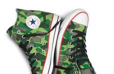 Musical Collaboration Kicks - Gorillaz x Converse Sneakers Use Jamie Hewlett for Exciting Designs
