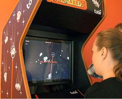 Eye-Controlled Arcade Games