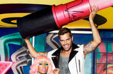 Popping Pink Awareness Ads - Nicki Minaj and Ricky Martin Shine in MAC's Newest Viva Glam Campaign