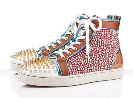 The Christian Louboutin New Men's Shoe Collection is Spectacular