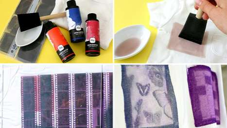 The Photo Fabric Dye Kit is Made for Hipsters