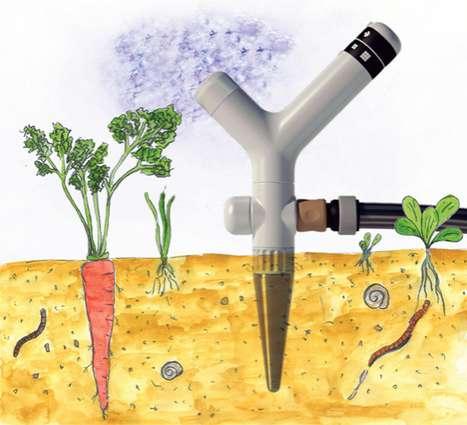 Gardener Water-Monitoring Gadgets