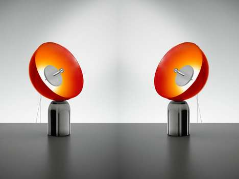 Satellite-Shaped Lamps