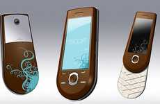 Mobile Shopping Projectors - The Escort Shopping Phone Lets You Virtually Try on Clothes On-The-Go
