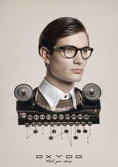 Human-Hybrid Eyewear Ads