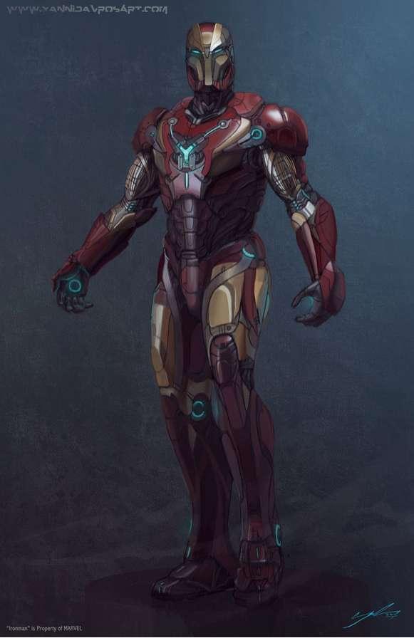 Futuristic Redesign Superhero Renderings Yanni Davros