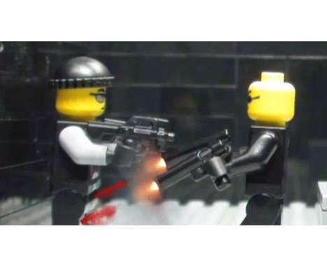 11 Violent LEGO Creations