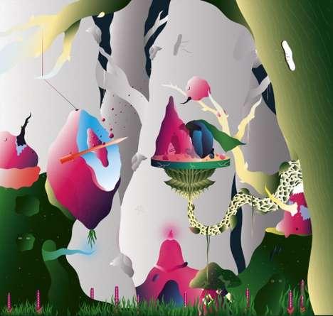 Fantastical Fairyland Illustrations