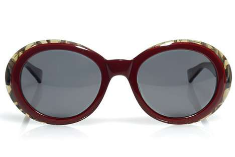 Eccentrically Oversized Eyewear