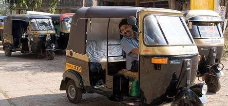 SMS Auto Rickshaw Services