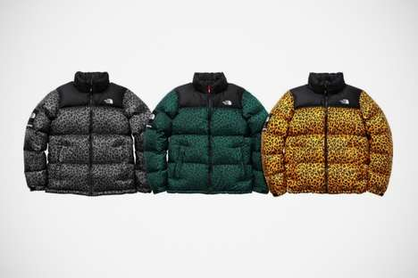 Animalistic Bubble Jackets
