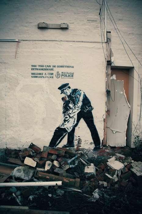 Social Street Art Ads