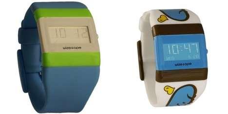 Interchangable Digital Timepieces