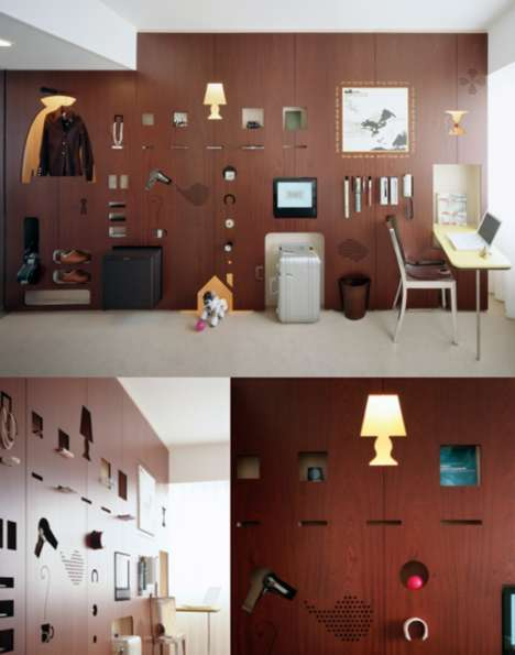Curiously Cutout Cabinets