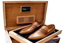 Multipurpose Cigar Compartments - Bally Scribe's Made-to-Order Humidors Double as a Shoe Rack