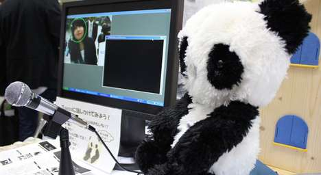 Elderly Assuaging Androids - Toco-Chan is a Robotic Panda That Keeps Grandpa Company