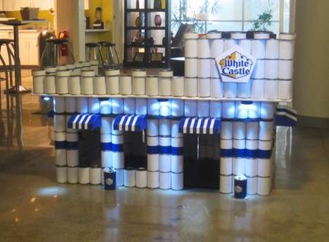 Canned Fast Food Castles