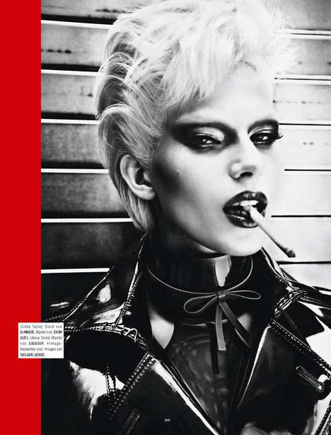 Sultry Smoking City Editorials