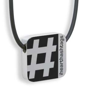 Bring the Virtual to Real Life with Twitter Hashtag Necklaces