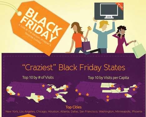 Insane Holiday Shopping Infographics