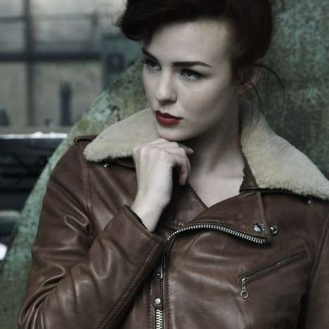 Grease-Inspired Leather Lookbooks