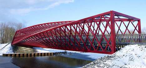 Red Winding Walkways