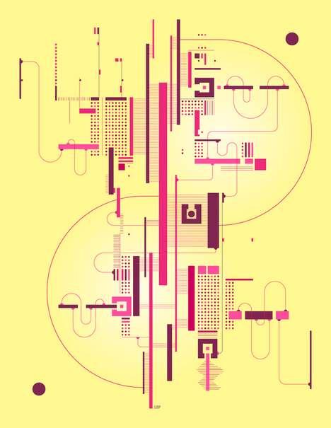 Geometric Schematic Illustrations