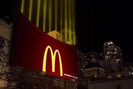 McDonald's Fry Lights Make a Statement About the World's Best Fries