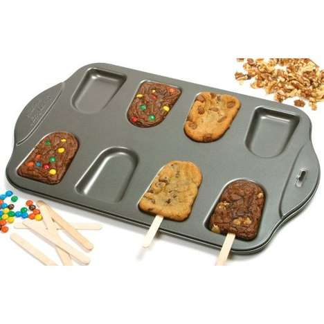 Cookie-Popsicle Bakeware
