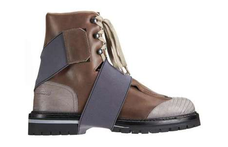 Two-Toned Hiking Boots
