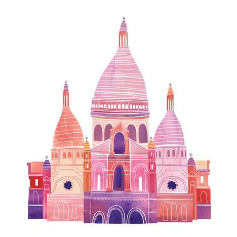 Marisa Seguin 'Here nor There' Pictures Present Charming City Views