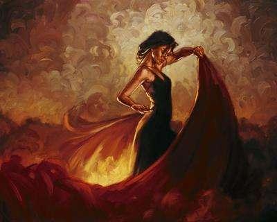 Dazzling Dancer Depictions