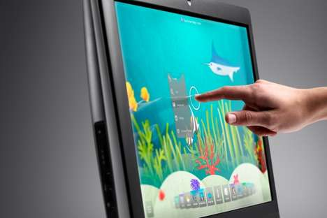 Touchscreen on the Big Screen