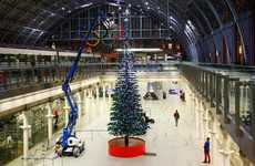 Toy Brick Trees - The LEGO Christmas Tree Uses Over 600,000 LEGO Pieces