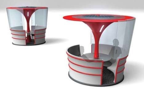 All-Weather Public Pods