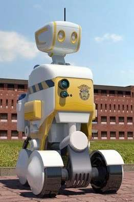 Robotic Penitentiary Patrols - South Korean Jail Running Trials on Use of Robot Prison Guards